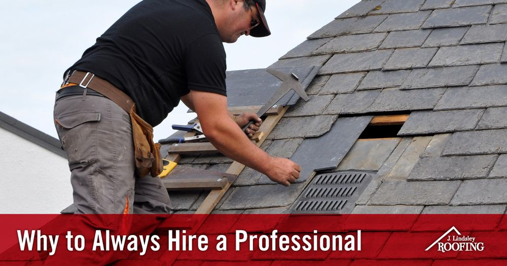 3 Reasons You Should Hire a Professional For Roof Inspections